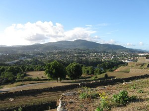 View from Valença