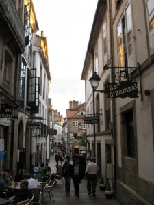 Santiago's Narrow Lane