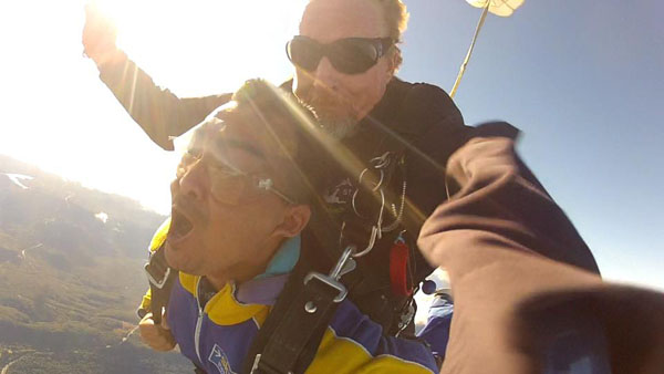 Tandem Skydiving