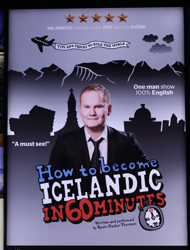 How to be Icelandic in 60 Minutes