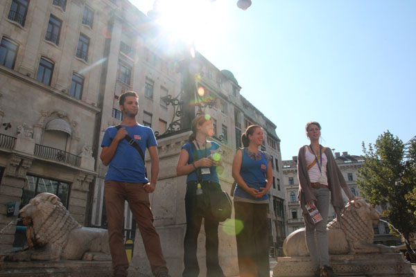 Budapest Free Walking Tour Guides