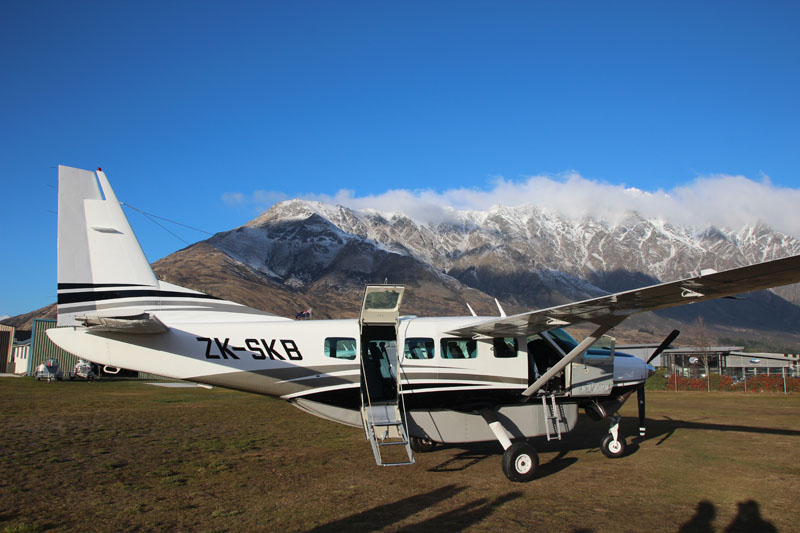Back at Queenstown Airport