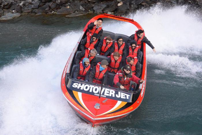 Shotover Jet Queenstown Experience