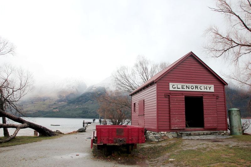 Glenorchy - A house by the lake