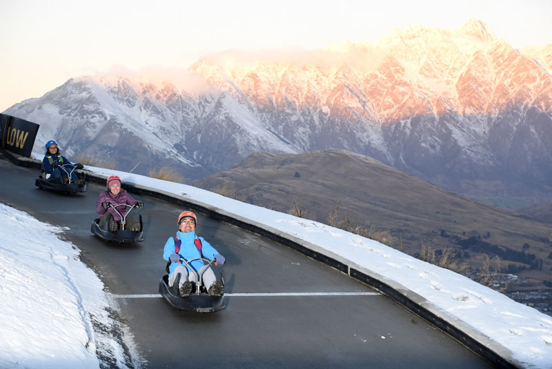 Luge - Skyline Queenstown