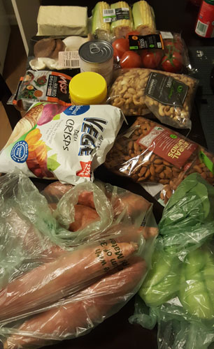 Groceries Day 1