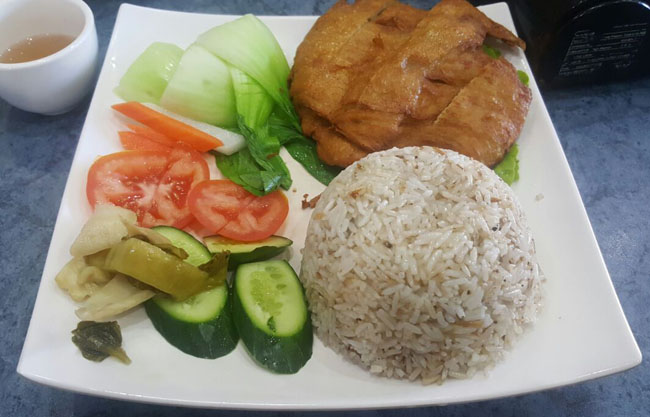 World Vegan Hainanese Chicken Rice