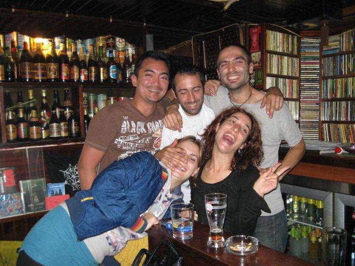 Pub in Santiago