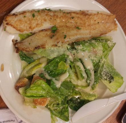 Ikan dan Salad